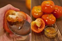 In this post, we will discuss homemade tomato facial mask for skin. After applying the tomato facial mask every woman will get glowing and fresh skin. Homemade Facials, Homemade Skin Care, Mask For Dry Skin, Skin Mask, Face Skin, Vaseline Beauty Tips, Beauty Tips In Hindi, Pore Mask, Homemade Face Masks