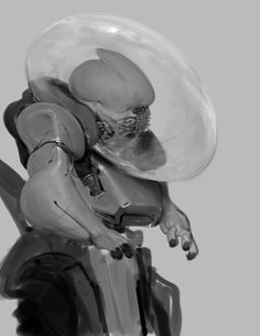 Anthony Jones is a concept artist and illustrator working in the film and video game industry. Creature Concept Art, Creature Design, Alien Character, Character Art, Aliens, Anthony Jones, Monster Concept Art, Traditional Artwork, Monster Design