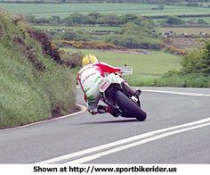 His Majesty, Joey Dunlop at Kate's Cottage 95 Junior TT on a 1995 Honda RS 250. Pure Class!