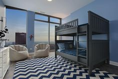like this modern style kid's bedroom