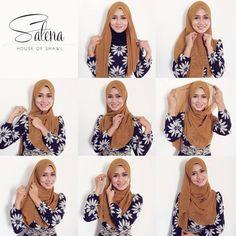 Macam-macam gaya ada   #tudung #halfmoon #hijab #tutorialshawl #tutorialtudung  more: www.facebook.com/gayabawal