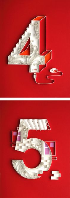 Paper Art by Yulia Brodskaya | Inspiration Grid | Design Inspiration