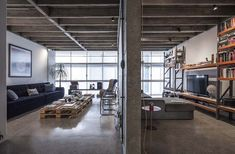 Revamped apartment on the 11th floor of the Copan Building, Brazil