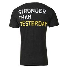 Golds Gym Stronger Than Yesterday Gym T-Shirt
