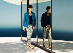 Gucci Men's Cruise 2014 Collection | Great patterns in the collection.