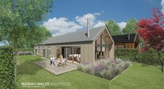 Mason and Wales Architecture - Contemporary Crib