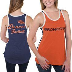 Denver Broncos Women's Orange Home Game Tank Top