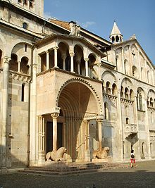 Duomo di Modena -Is a splendid piece of Romanesque architecture. Dates from the 12th C., but has been a sacred site since the 5th Century.