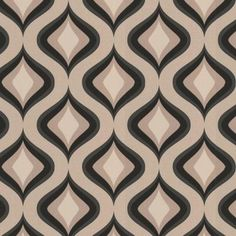 Graham & Brown 56 sq. ft. Trippy Gray Wallpaper-30-450 at The Home Depot