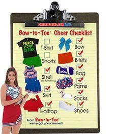 Cheer Pax Complete Cheerleading Uniform Package