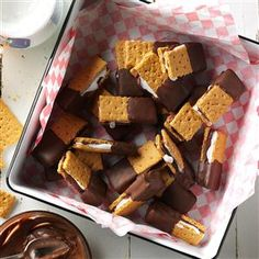 Mini S'mores Recipe from Taste of Home