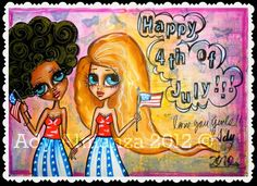 Happy 4th of July to all my dear  american friends!