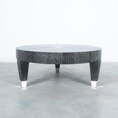 Oak Coffee Table, Oak Table, Black Silver, Ottoman, Tables, Flooring, Rustic, Contemporary, Living Room