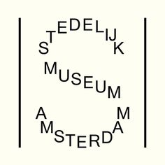 Stedelijk Museum #NL | Museum for modern and contemporary art, Amsterdam.