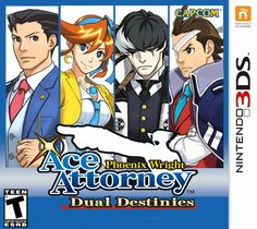 Phoenix Wright: Ace Attorney – Dual Destinies for Nintendo 3DS