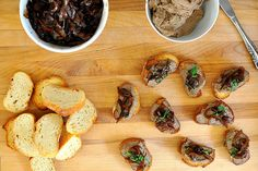 Chicken Liver Pate with Balsamic Onions