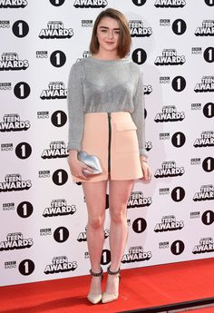 Maisie Williams - Radio One Teen Awards 2014 in London Hottest Game Of Thrones, Best Young Actors, Teen Awards, Chloe Bennet, Sansa Stark, Maisie Williams, Celebs, Celebrities, Bikini Models