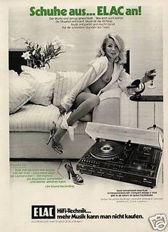 Für Liebhaber der alten Abspielgeräte für analog gespeicherte Musik auf Schallplatte oder Kassette. Beschreibung Die Kieler ELAC war Ende der 50er bis zu Ihrem Konkurs 1978 mit die erste Adresse bei Platten spielern. Den gesamten Weltmarkt teilten sich zu jener Zeit die drei deutschen Firmen Dual, ELAC und Perpetuum Ebner mit 90% Marktanteil.Im Vergleich zu den damals gängigen Hifi- Marken DUAL, PE oder Telefunken bieten die Plattenspieler sowohl technisch als auch im Design einen ganz…