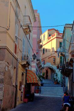 Streets of Carloforte  by Andrea Turno