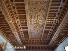 Wooden Ceiling Design, Wooden Ceilings, False Ceiling Design, Ceiling Plan, Ceiling Lights, Gypsum Decoration, Open Basement, Plafond Design, Old Room