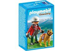 Soccorritore alpino con cane - PLAYMOBIL® Italia