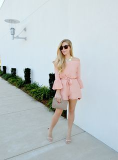 Fash Boulevard: Little Pink Romper