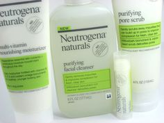 Neutrogena Naturals skincare collection, good stuff! Especially if you tend to get blackheads like I do.