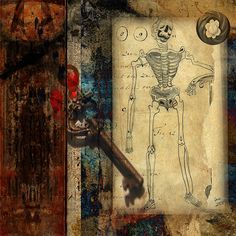 Mixed Media Art  - Collage Untitled by collage a day, via Flickr