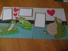 Scrapbook layout using the Disney Believing in Dreams cricut cartridge - theme Princess and the Frog.  Will be the layout for the January 4, 2017 class.