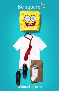I'm ready, I'm ready. for the Spongebob Maskimal, available only at Walmart. Couple Halloween, Halloween Fun, Halloween Costumes, Spongebob Halloween, Funky Jewelry, Stylish Jewelry, Only At Walmart, Raising Girls, Shopping Places