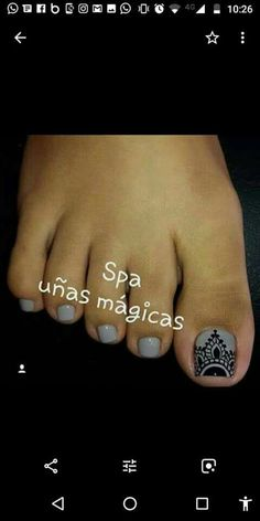Pedicure Colors, Manicure And Pedicure, Toe Nail Art, Toe Nails, Toe Nail Designs, Hair Beauty, Lily, Make Up, Tattoos