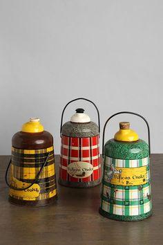 Vintage Pelican Cooler-I have the red one! Vintage Picnic Basket, Vintage Lunch Boxes, Vintage Tins, Vintage Love, Vintage Kitchen, Vintage Decor, Vintage Antiques, Retro Vintage, Picnic Baskets