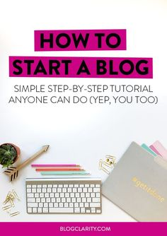 Ready to start a blog? This beginner's guide walks even the most tech-unsavvy through setting up their very own blog with WordPress. Follow the step-by-step tutorial to get up and running on a successful blog!