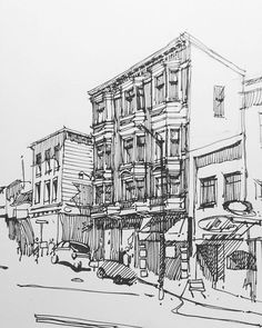 Unfinished ... #inktober #inktober2015 #sketch #drawing #draw #art #architecture #moleskine  #mymoleskine #urbansketch #urbansketchers #sketchbook #sketching #rotring  #ink #linedrawing #sf #lamy #sk_101#bw #architecturesketch #archsketch #artist #sanfrancisco #ca #northbeach