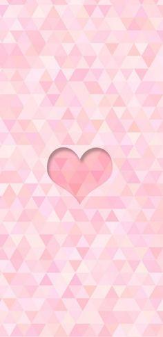 Chevron Heart Wallpaper