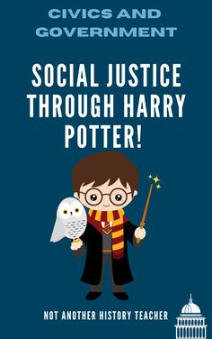 Civically engage your students on how the wizarding world can teach Muggles a thing or two about how to fight for the common good and social justice! They will reflect and brainstorm with two-one hour lessons on how Harry Potter's actions have the potential to evoke social change and make connections to modern-day civics.