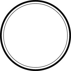 Circle with thick and thin outline ❤ liked on Polyvore featuring frames, circles, fillers, backgrounds, effects, borders, text, outlines, round and doodles