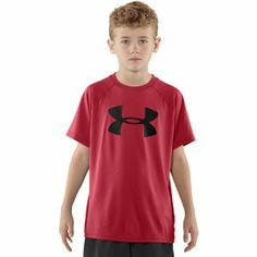 The Under Armour T-Shirt you have to have - HeatGear tech fabric is super soft, lightweight and wicks sweat from you skin like a demon.  All day comfort but perfect balsting out a session as well. http://www.performancesportsstuff.com/pr/1270/ua-boys-logo-tech-t-shirt-red