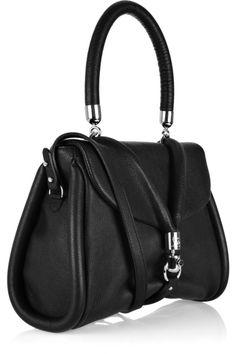 Christian-Louboutin / Miss-Rope Capra black leather bag