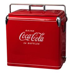Classic Coca-Cola Picnic Cooler - a touch of vintage...