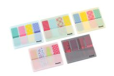 Post-it Portable Design Film Page Markers - Pink Japanese Stationery, Jet Pens, Page Marker, Planner Decorating, Erin Condren Life Planner, Planner Organization, Office And School Supplies, Pen And Paper, Sticky Notes