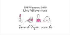 Desfile SPFW: Inverno 2015 do estilista Lino Villaventura em São Paulo, Brasil.