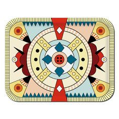 Geometric love. Kitchen Companions Tray, $38, now featured on Fab.