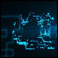 Design a Digital Circuitry Logo Reveal