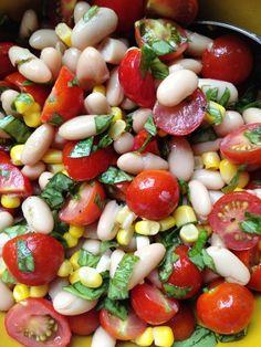 Cannellini Salad . Ensalada de legumbres.