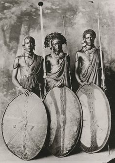 Afrika Maasai Warriors ca. African Culture, African History, African Art, African Tribes, African Diaspora, Out Of Africa, East Africa, Black History, Art History