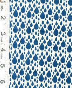 Little Things Organic Fabric - Rain By Arrin Turnmire for Moda -14094 21 Cream Sky - 27 Inch Remnant by FeatheredNest97030 on Etsy https://www.etsy.com/listing/199251591/little-things-organic-fabric-rain-by