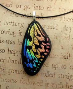 Rainbow+Wood+Nymph+Butterfly+Wing+Fused+Glass+by+FusedElegance.deviantart.com+on+@deviantART