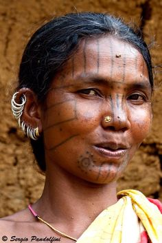 India | Malliah Kondh woman. Orissa | ©Sergio Pandolfini