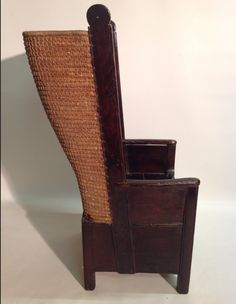 Late 19c Orkney Chair